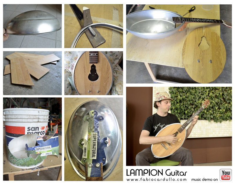 Collage Lampion Guitar® parts